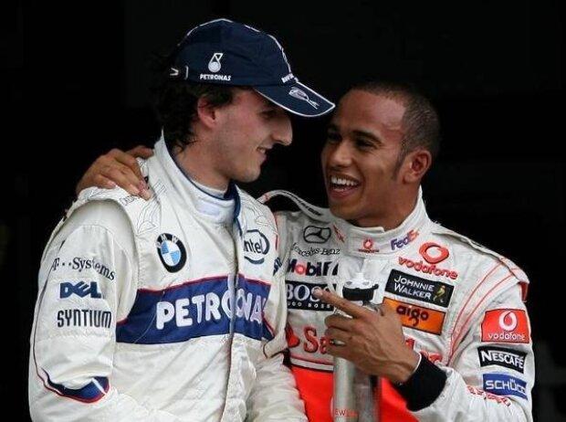 Lewis Hamilton, Robert Kubica