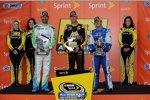 Clint Bowyer, AJ Allmendinger und Fan-Vote-Sieger Josh Wise sind beim Allstar-Race dabei