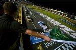 Start zum Allstar-Race mit Carl Edwards (Roush) und Kyle Busch (Gibbs) in Reihe eins