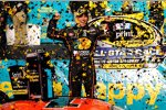 Allstar-Sieger Jamie McMurray jubelt in der Victory Lane