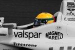 Simon Pagenaud (Schmidt) mit Helmdesign in Erinnerung an Ayrton Senna