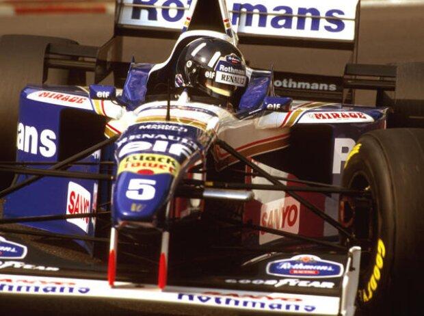 Damon Hill in Monaco 1996