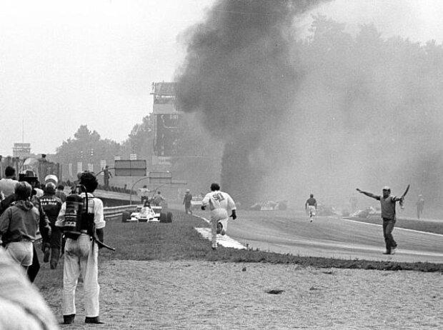 Ronnie Peterson Unfall Feuer Italien Monza 1978