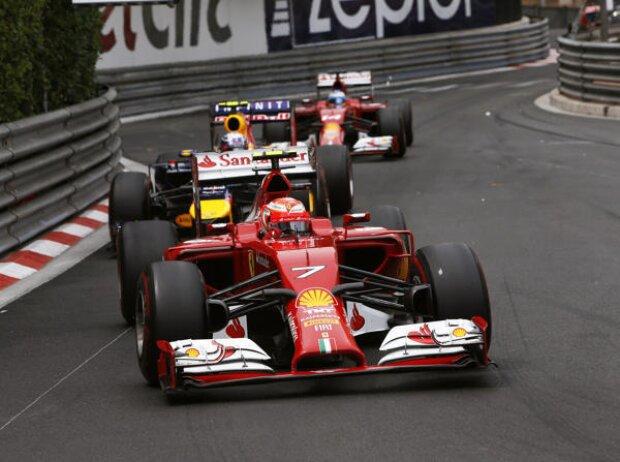 Kimi Räikkönen, Daniel Ricciardo, Fernando Alonso