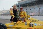 Beccy, Ryan und Ryden: Familie Hunter-Reay genießt den Indy-500-Sieg