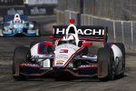 Anfangsphase: Helio Castroneves (Penske) führt vor James Hinchcliffe (Andretti)