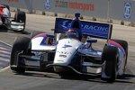 Michail Aljoschin dreht die ersten russischen Führungsrunden bei den IndyCars