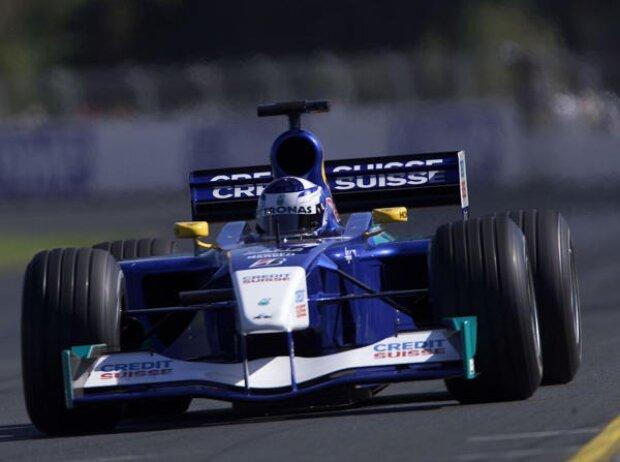 Kimi Räikkönen in Melbourne 2001
