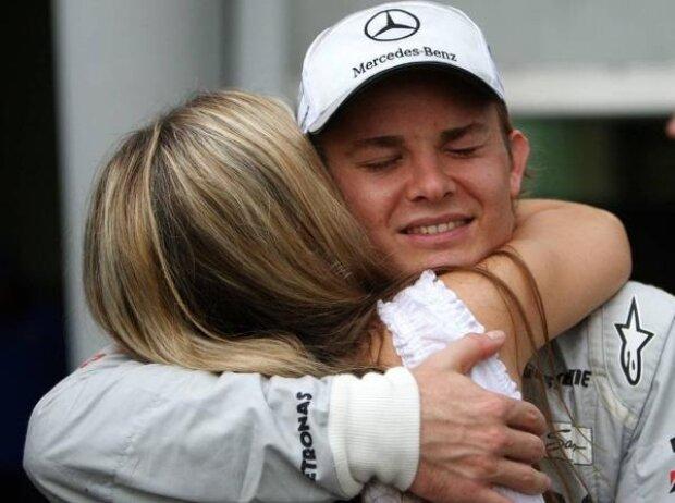 Nico Rosberg, Vivian Sibold