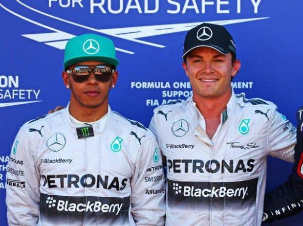 Lewis Hamilton, Nico Rosberg, Daniel Ricciardo