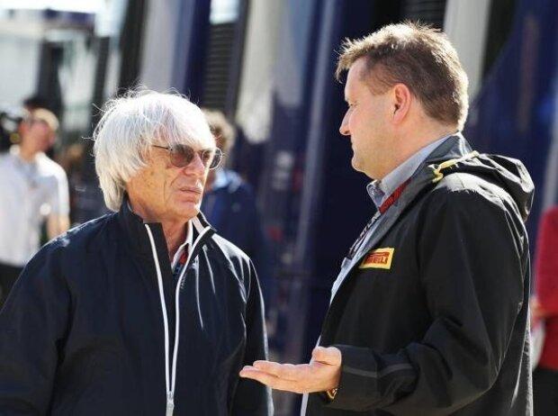 Bernie Ecclestone, Paul Hembery
