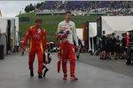 Stefano Coletti (Racing Engineering) und Raffaele Marciello (Racing Engineering)