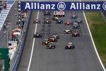 GP2-Start in Österreich