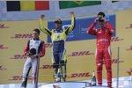 Felipe Nasr (Carlin), Stoffel Vandoorne (ART) und Raffaele Marciello (Racing Engineering)