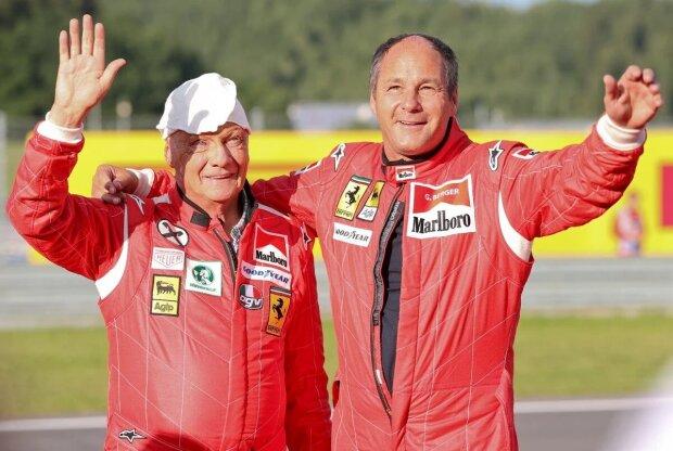 Gerhard Berger Mercedes Mercedes AMG Petronas Formula One Team F1 ~Gerhard Berger ~