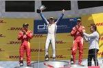 Stefano Coletti (Racing Engineering), Raffaele Marciello (Racing Engineering) und Jean Alesi