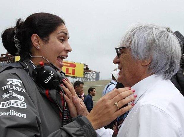 Monisha Kaltenborn, Bernie Ecclestone