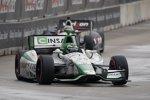 Carlos Munoz (Andretti) und Will Power (Penske)