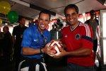 WM-Fieber in Pocono: Helio Castroneves und Juan Pablo Montoya