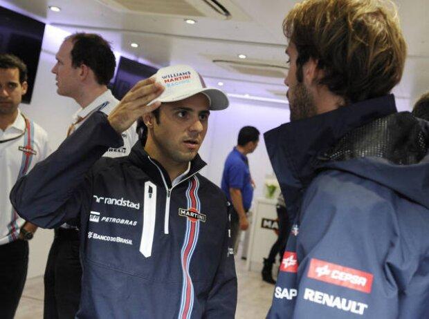 Felipe Massa, Jean-Eric Vergne