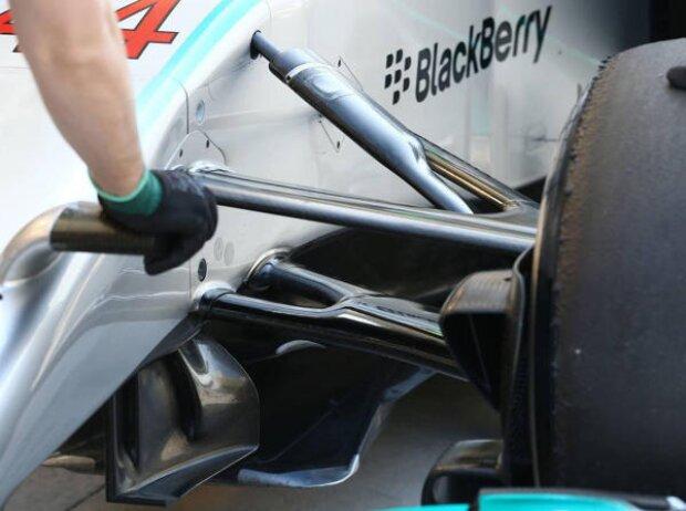 Mercedes-Aufhängung