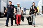 Jean-Eric Vergne (Toro Rosso) und Romain Grosjean (Lotus)