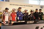 Die Pressekonferenz auf dem Sachsenring