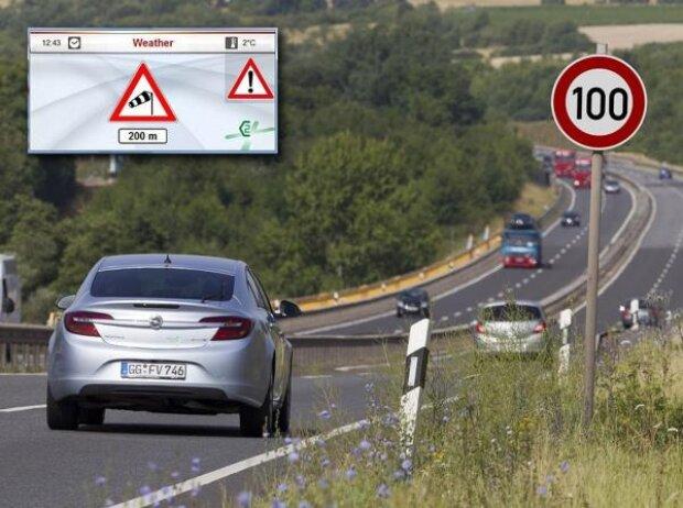 Opel nahm mit einen speziell ausgestatteten Insignia am Forschungsprojekt