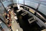 Medienrunde mit Jenson Button (McLaren)