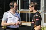Ciaron Pilbeam (McLaren) und Romain Grosjean (Lotus)