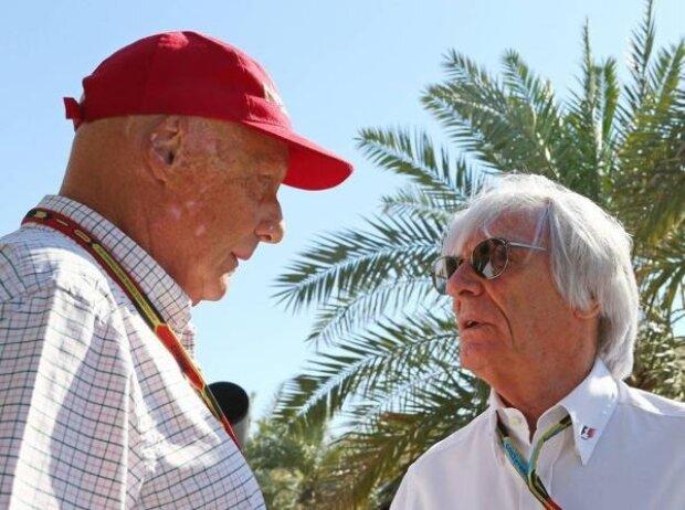 Bernie Ecclestone, Niki Lauda