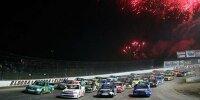 Start zum Truck-Rennen auf dem Eldora Speedway 2013