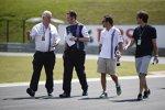 Felipe Massa (Williams) und Pat Symonds