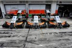 Nasen des Force India
