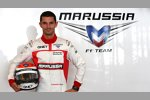 Neo-Testfahrer Alexander Rossi (Marussia)