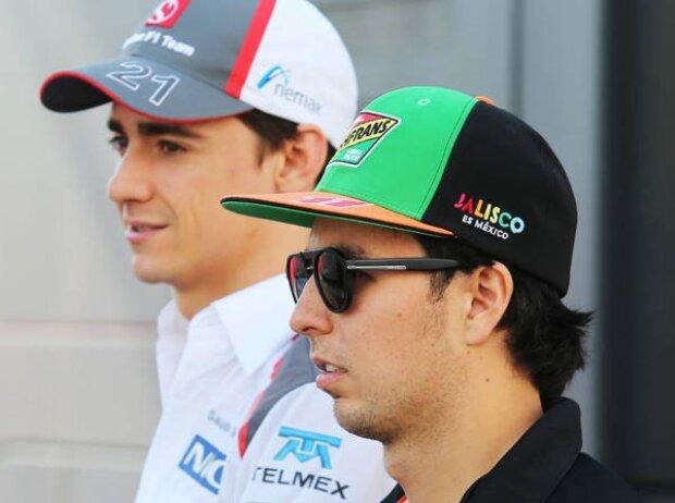 Sergio Perez, Esteban Gutierrez