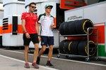 Jules Bianchi (Marussia) und Marcus Ericsson (Caterham)