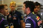 Sebastian Vettel (Red Bull) und Daniel Ricciardo (Red Bull)