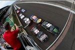 Start zum Nationwide-Rennen mit Kyle Busch und Matt Kenseth (beide Gibbs) in Reihe eins