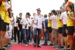 Adrian Sutil (Sauber) und Nico Rosberg (Mercedes)