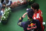 Daniel Ricciardo (Red Bull) und Fernando Alonso (Ferrari)