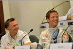 Jost Capito und Sebastien Ogier (Volkswagen)