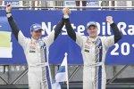 Die Sieger: Jari-Matti Latvala und Miikka Anttila (Volkswagen)