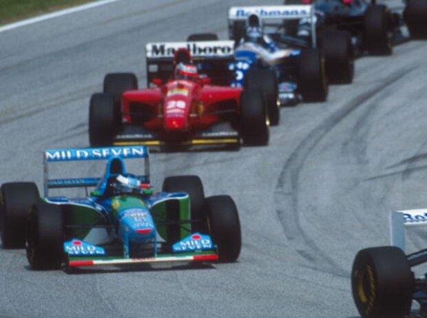Michael Schumacher, Gerhard Berger