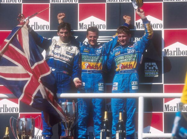 Michael Schumacher, Jos Verstappen