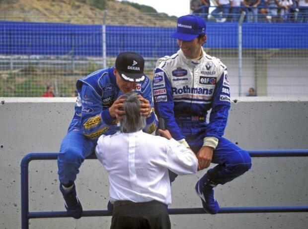 Michael Schumacher, Bernie Ecclestone