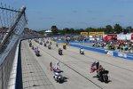 Pre-Race auf der Milwaukee-Mile