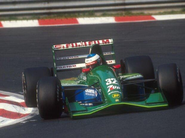 Michael Schumacher in Spa-Francorchamps 1991