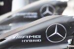 Mercedes-Motorenabdeckung