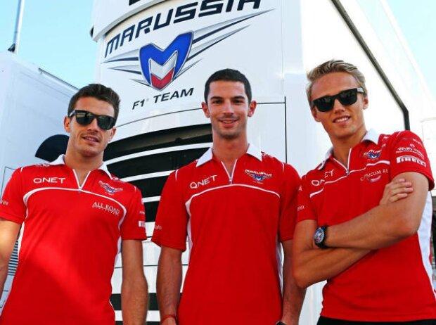 Jules Bianchi, Alexander Rossi, Max Chilton